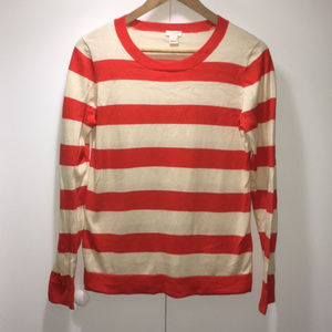 J Crew Tippi Striped Sweater - Size Small